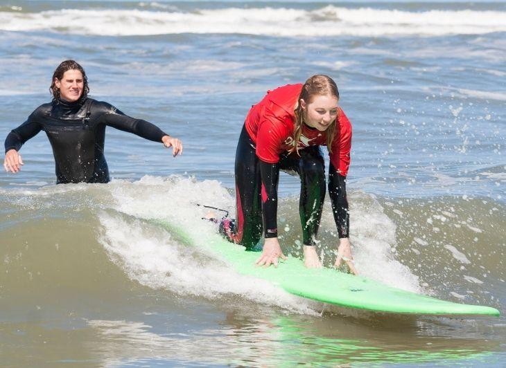 Backpacken in Nederland - Surfen - Waddenhop