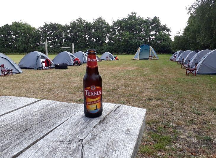 Backpacken in Nederland - Texels schuumkoppe - Waddenhop