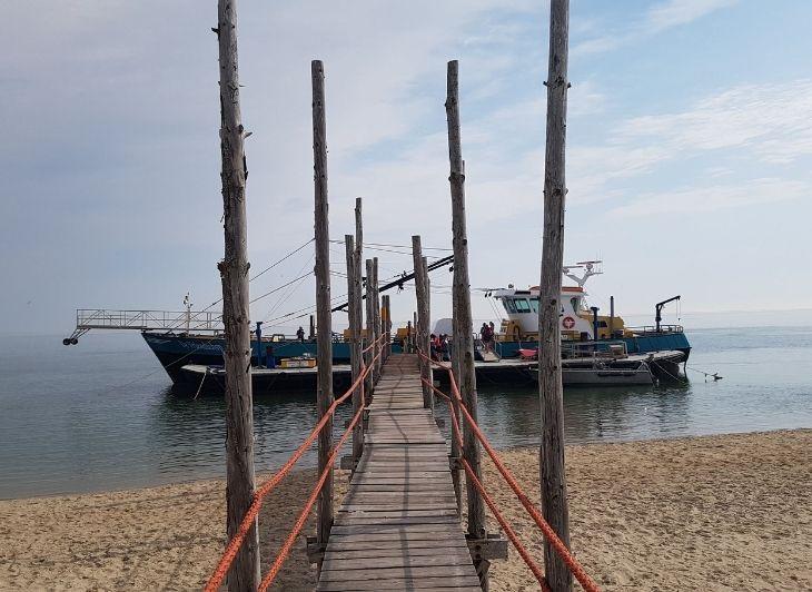 Familie vakantie Waddeneilanden - boot naar vlieland - Waddenhop