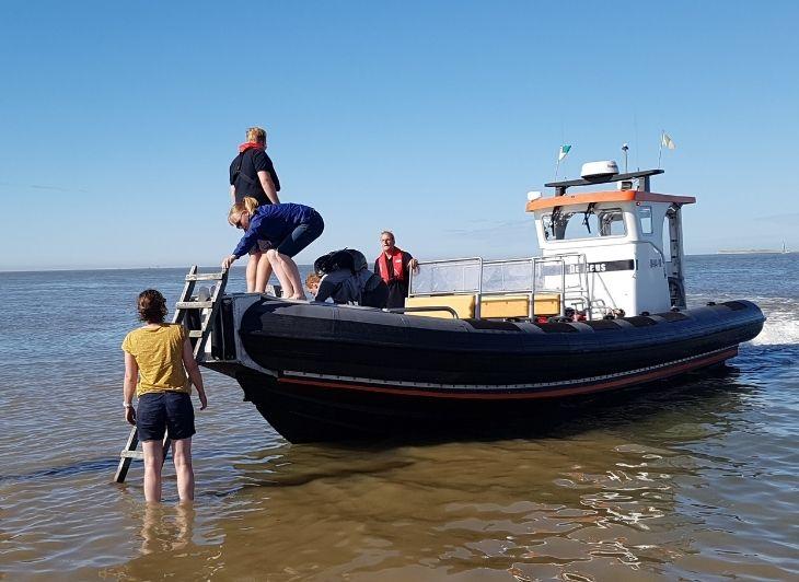 Vacature Reisbegeleiding - aankomst boot - Waddenhop